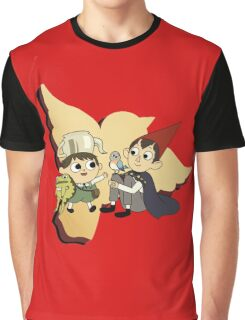 Over the Garden Wall red Graphic T-Shirt
