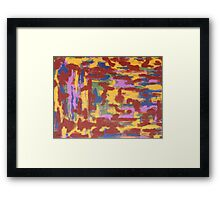 ABSTRACT 411 Framed Print