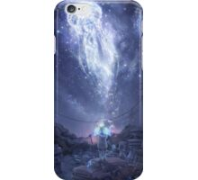 dmmd surreal galaxy iPhone Case/Skin
