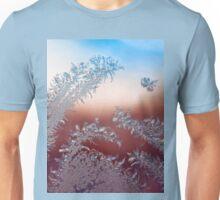 Hummingbird in the Arctic Garden Unisex T-Shirt