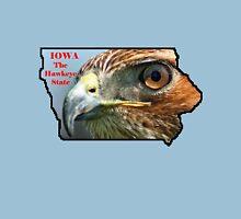 Iowa State Map with Nickname T-Shirt