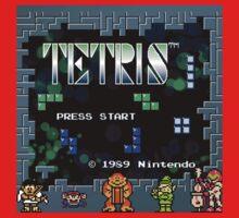Tetris - Nintendo Baby Tee