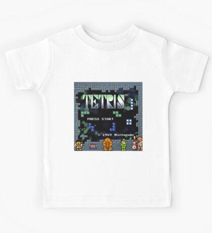 Tetris - Nintendo Kids Tee