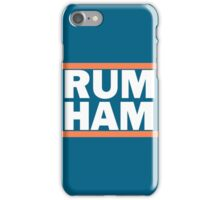 Rum Ham Orange iPhone Case/Skin