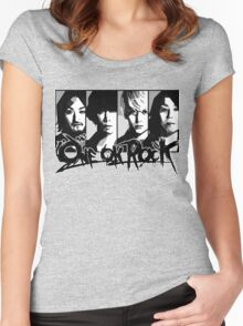 one ok rock! t shirt Women's Fitted Scoop T-Shirt