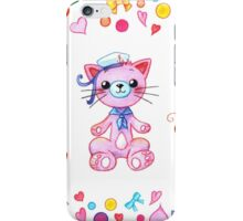 Cute set of animals for kids iPhone Case/Skin