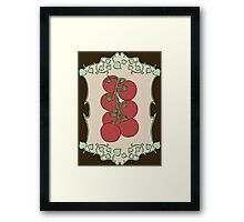 Gardener's Delight | Tomatoes Framed Print