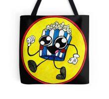 Happy Popcorn  Tote Bag