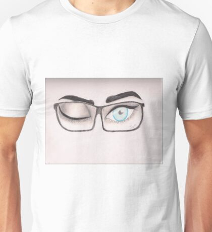 Winking Eyes Unisex T-Shirt