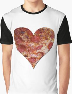 I Love Pizza Graphic T-Shirt