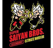 Super Saiyan Bros. Photographic Print