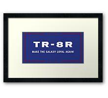 TR-8R Campaign Framed Print
