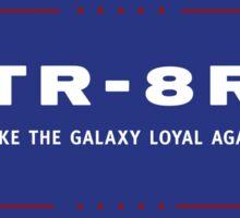 TR-8R Campaign Sticker