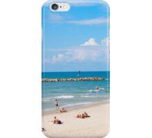 Frishman Beach, Tel Aviv, Israel  iPhone Case/Skin
