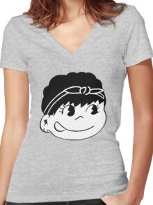 Suga Self Portrait  Women's Fitted V-Neck T-Shirt