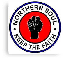 Northern Soul Canvas Print