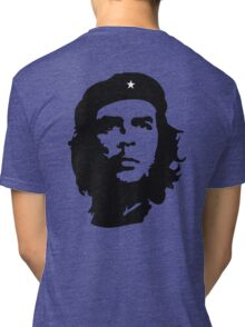 CHE, Che Guevara, Revolution, Marxist, Revolutionary, Cuba, Power to the people! Black on White Tri-blend T-Shirt
