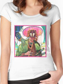 El huervo samurai Women's Fitted Scoop T-Shirt