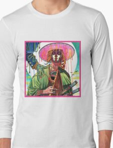 El huervo samurai Long Sleeve T-Shirt
