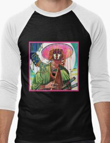 El huervo samurai Men's Baseball ¾ T-Shirt