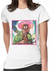 El huervo samurai Womens Fitted T-Shirt