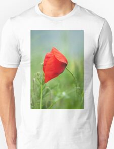 Wild red poppy T-Shirt