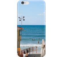 Sunny winter's day on Gordon Beach, Tel Aviv, Israel iPhone Case/Skin