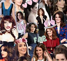 Tina Fey Collage by onceuponadesign