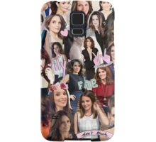 Tina Fey Collage Samsung Galaxy Case/Skin