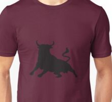 Silhouette Running with the Bulls Spain Unisex T-Shirt