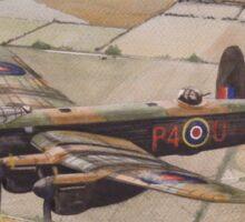 Lancaster over Lincolnshire Sticker
