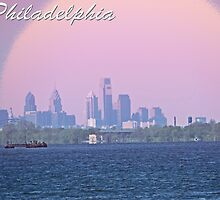 Philadelphia Skyline by GalleryThree