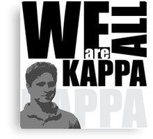 We Are ALL KAPPA W/ Twitch Purple Canvas Print
