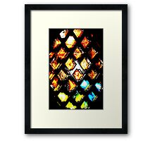 AB3 Abstract image Framed Print