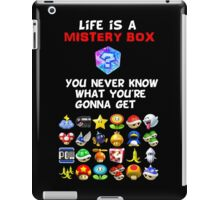 Life is a Mistery Box (of Mario Kart) A iPad Case/Skin