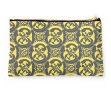 Dark grey and yellow Studio Pouch
