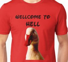 THE DEVIL DUCK Unisex T-Shirt