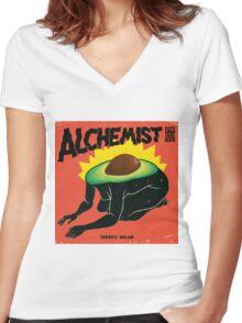 The alchemist Women's Fitted V-Neck T-Shirt