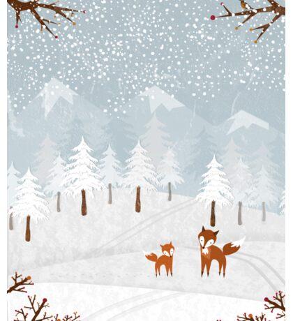 Snowstorm Sticker
