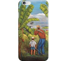 Harvesting the Plantation iPhone Case/Skin