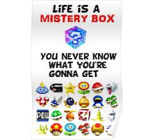 Life is a Mistery Box (of Mario Kart) B Poster