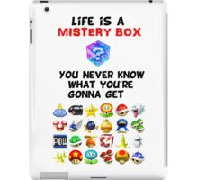 Life is a Mistery Box (of Mario Kart) B iPad Case/Skin