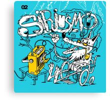Siriusmo blue Canvas Print