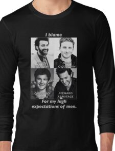 High Expectations of Men Long Sleeve T-Shirt