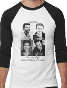 High Expectations of Men Men's Baseball ¾ T-Shirt