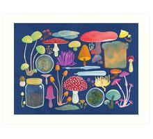 Mycology Art Print