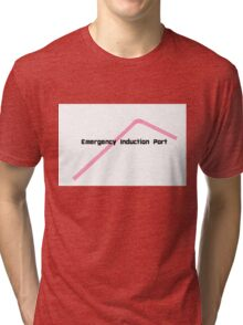 Emergency Induction Port Tri-blend T-Shirt