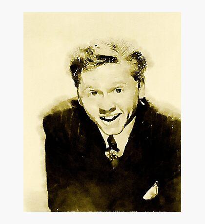 Mickey Rooney by John Springfield Photographic Print