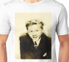 Mickey Rooney by John Springfield Unisex T-Shirt
