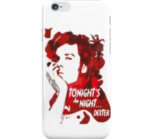 Dexter-blood iPhone Case/Skin
